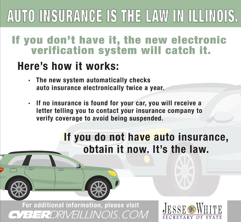 伊利诺斯州汽车保险电子验证系统