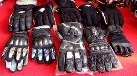 Campionario di guanti