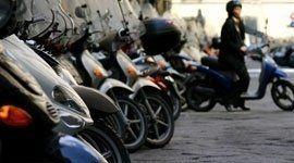 Parcheggio per i motocicli