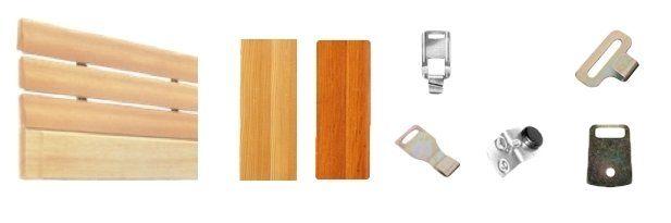materiali doghe legno