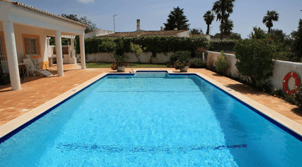 domestic outdoor swimming pool