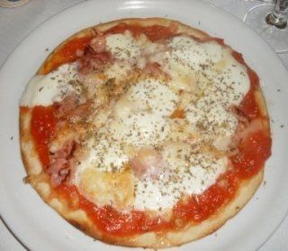 Pizza al prosciutto