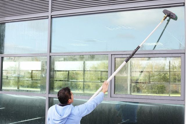 Modern window cleaning techniques