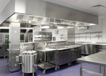 Commercial kitchen deep cleans