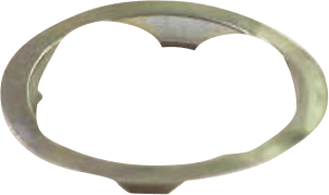 CUTICATE 10x Ancrage /à Anneau en D en Acier Inoxydable pour Remorque Attache Support de Fixation