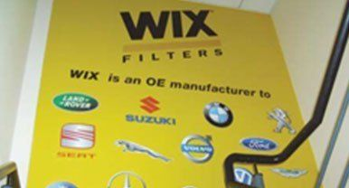 WIX FILTERS banner