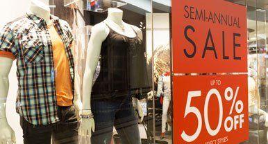 retail store graphics