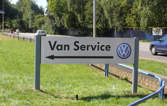 Volkswagen signage