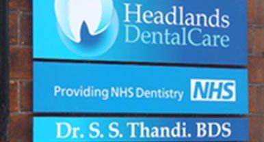 Headlands DentalCare signage