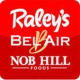 Raley's Bel Air Nob Hill Foods logo