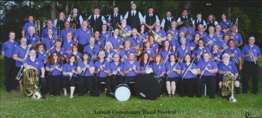 Rancho Cordova River City Concert Band musicians picture
