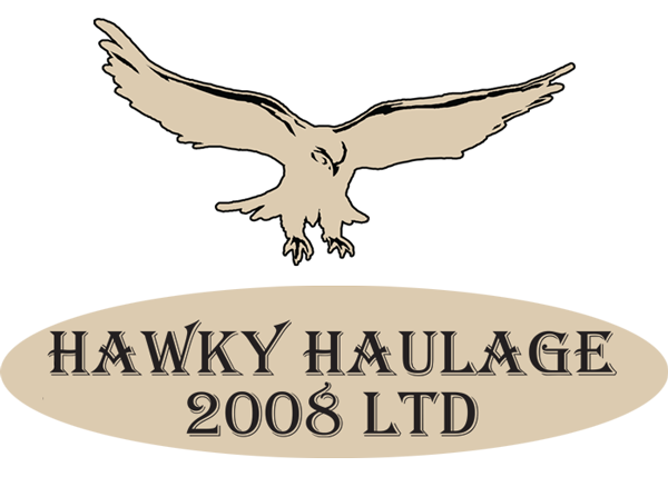 Hawky haulage logo