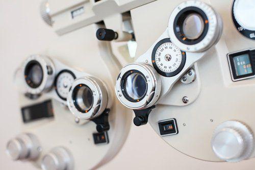 Stanza per visite oftalmologiche