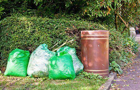 Garden waste removal service