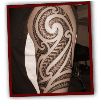 Tattoos - Liverpool - Fallen Angel Tattoo Studio - tribal tattoo