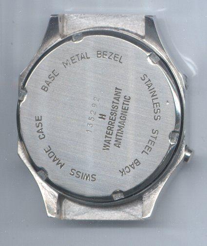 LED watch back after restoration at The Time Preserve