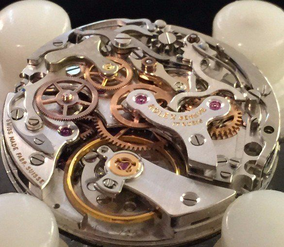 Rolex 722 movement repair at the time preserve