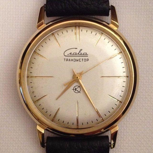 Slava Transistor watch after restoration The Time Preserve