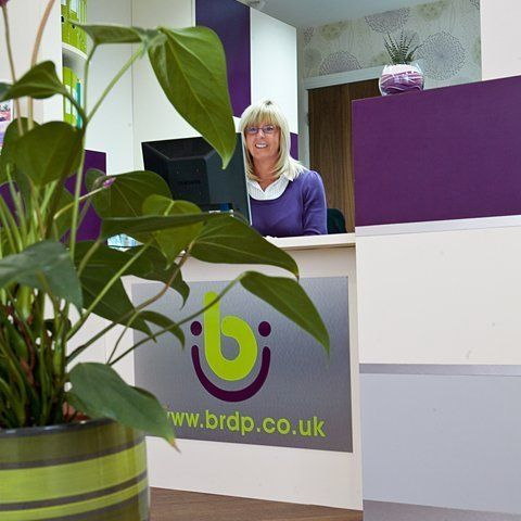 receptionist at dental surgery in burnley
