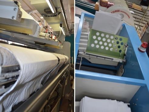 macchina per sanificazione biancheria