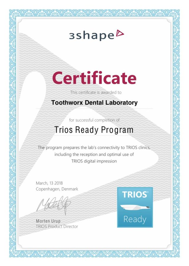 3Shape TRIOS Ready Laboratory