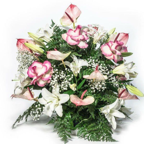 decorazione floreale per funerale