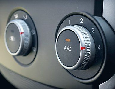AC operating buttons