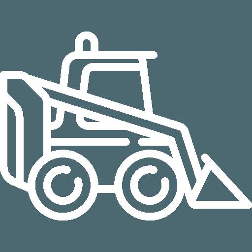 un'escavatrice