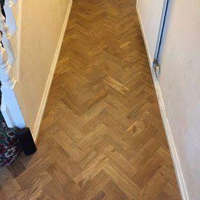 wood-effect flooring