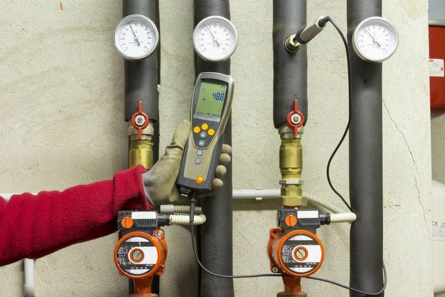 controllo dell'impianto termoidraulico