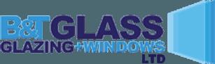 B&T Glass Glazing and windows logo