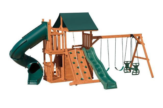 Stained Pine Swing Sets Coram Long Island Medford Southampton