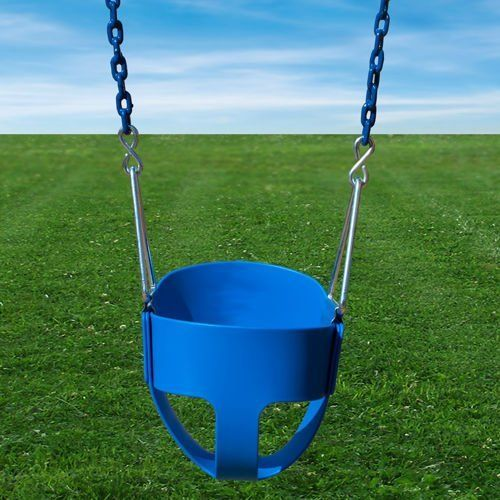 Soft Grip 360 Bucket Baby Swing - Wood Kingdom East