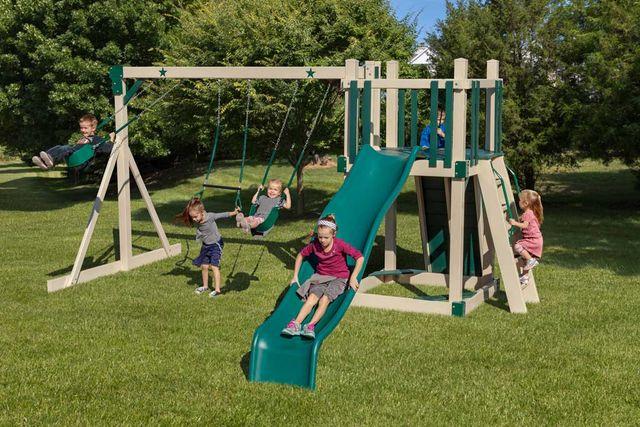 Pvc Playground Swing Slide Sets Coram Long Island Medford