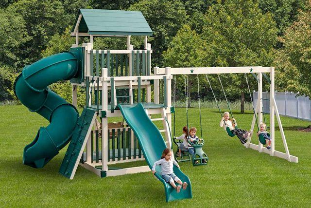 Pvc Playground Swing Amp Slide Sets Coram Long Island