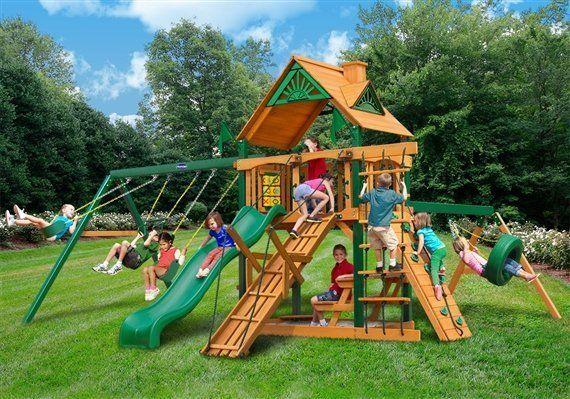 Acadia playground swing set - Wood Kingdom East - Coram, Long Island, Medford, The Hamptons NY