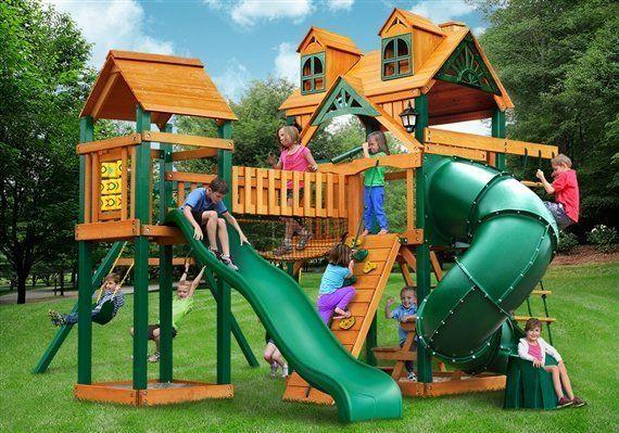 Adelade playground swing set - Wood Kingdom East - Coram, Long Island, Medford, The Hamptons NY