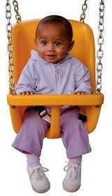 Deluxe High Back Baby Swing - Wood Kingdom East