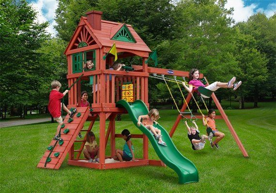 Calypso swing set built by Wood Kingdom East - Coram, Long Island, Medford, The Hamptons NY