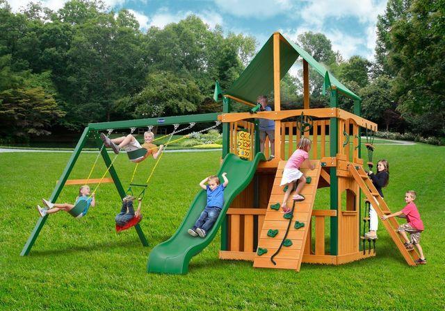 Reserve I playground swing set - Wood Kingdom East - Coram, Long Island, Medford, The Hamptons NY