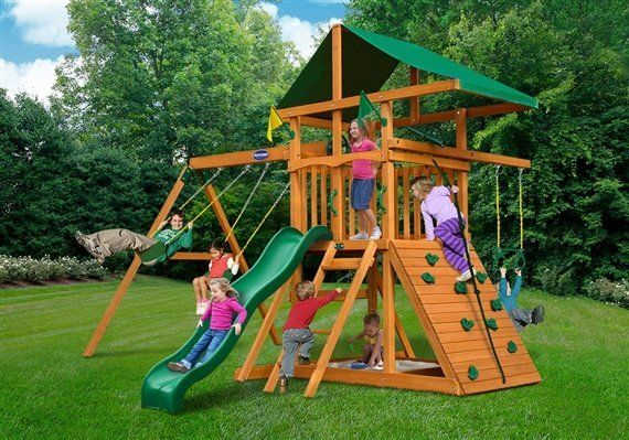Passage swing set built by Wood Kingdom East - Coram, Long Island, Medford, The Hamptons NY
