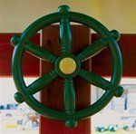 Small Ships Wheel - Wood Kingdom East