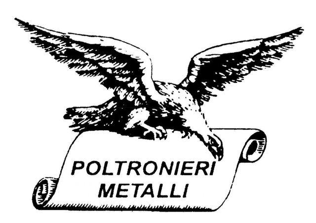 logo poltronieri metalli