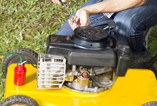 Professional garden equipment repairs