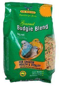 Gourmet budgie blend seed