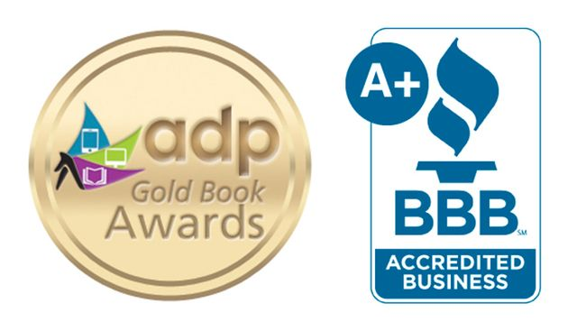 Summit Media Solutions, ADP Gold Book Awards, BBB Accredited Business A+