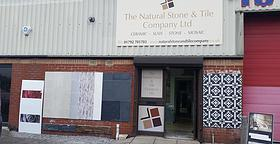 The Natural Stone & Tile Company Ltd showroom