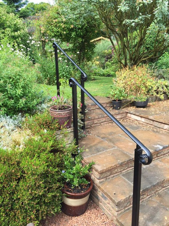single line railing