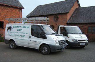 Stuart Shaw & Co company vehicles