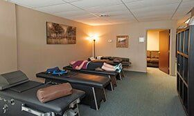 Patients Resting Inside Clinic — Corrective Exercise in Royal Oak, MI